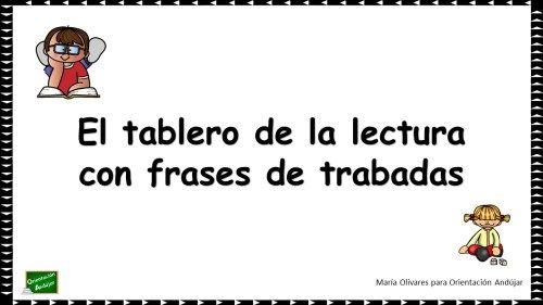 #rotacismo El tablero de la lectura especial trabadas