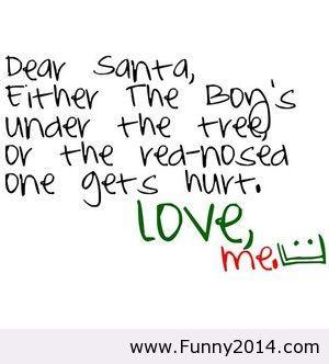 Dear Santa Funny  Christmas
