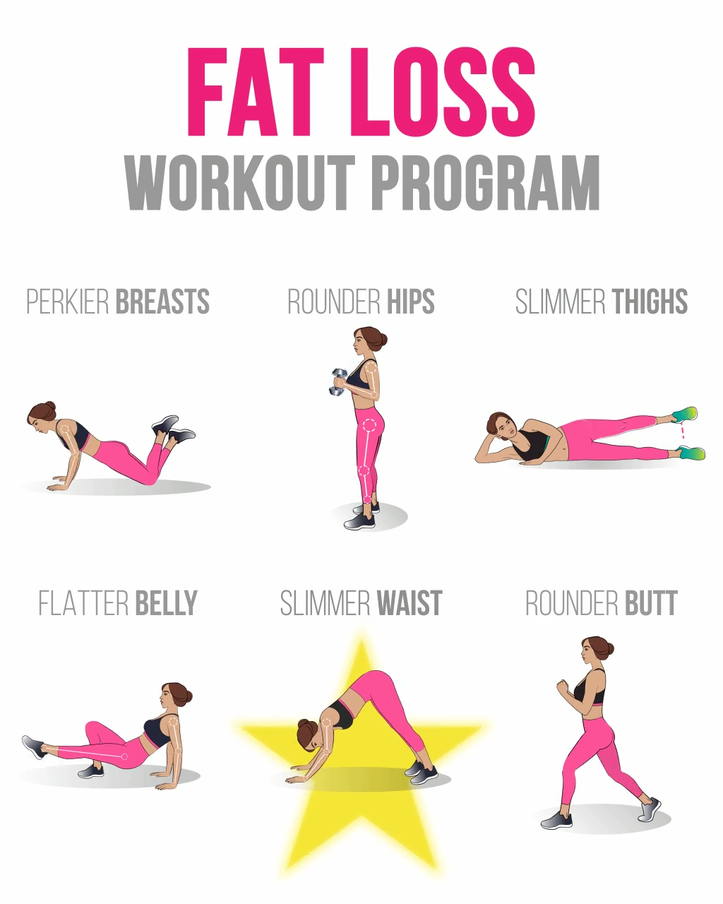 Get Perfect Body in Weeks with Easy Workout at Home #fitnessexercisesathome