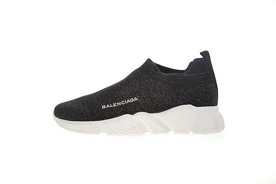 b108706cbb4e Balenciaga Speed Stretch Knit Low Noir Blanc Blanc Sole Woxh8681 fashion  shoes 2018 Shoe