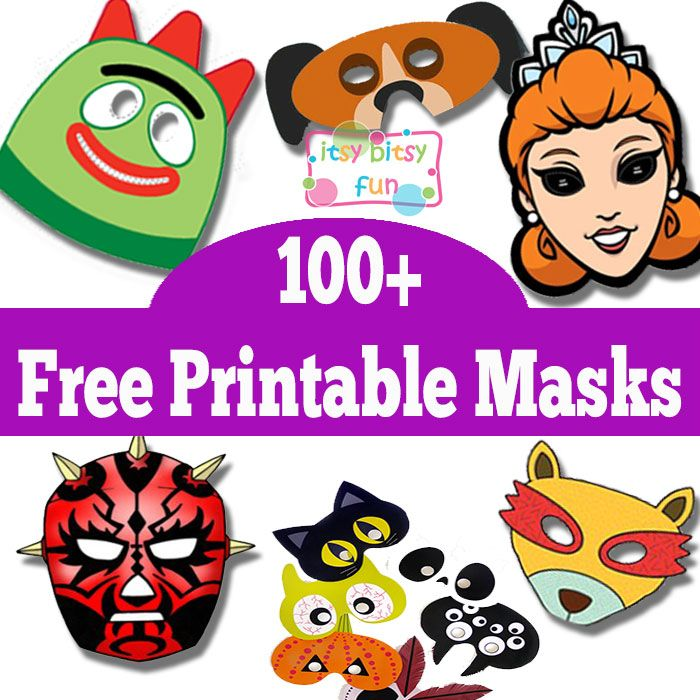picture regarding Free Printable Halloween Masks referred to as Higher than 100 Cost-free Printable Masks for Children Halloween Mask