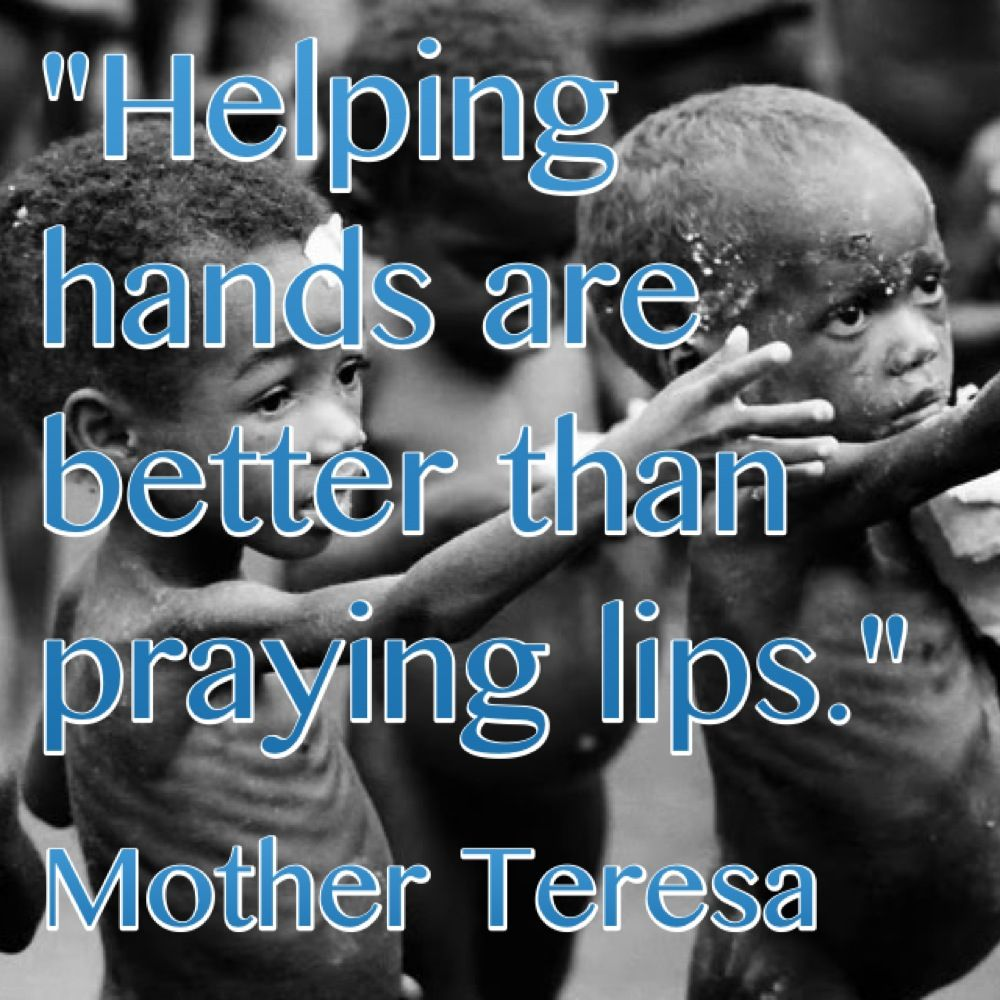 hands that help are holier than lips that pray essay