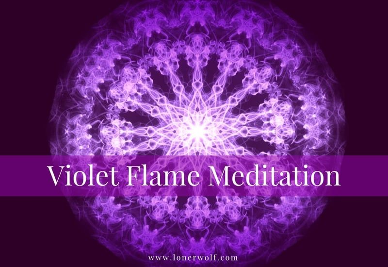 This Little-Known Violet Flame Meditation Can Transform ...