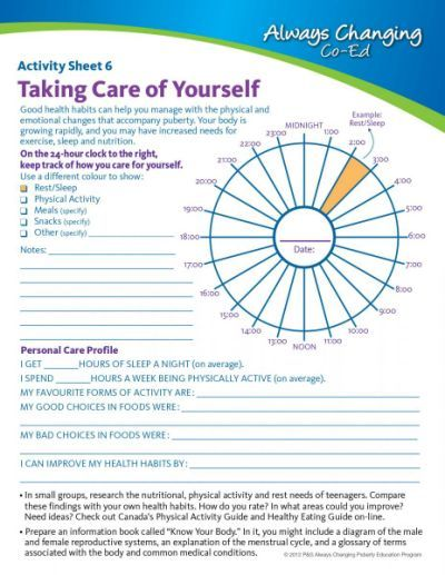 SelfCare For Teens Mental  Physical Wellbeing Taking Care Of