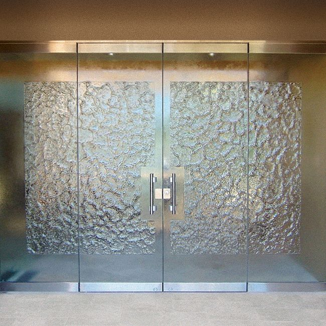 Pin By Cast Glass Images Inc On Doors Frameless Glass Doors Glass Doors Interior Door Glass Design