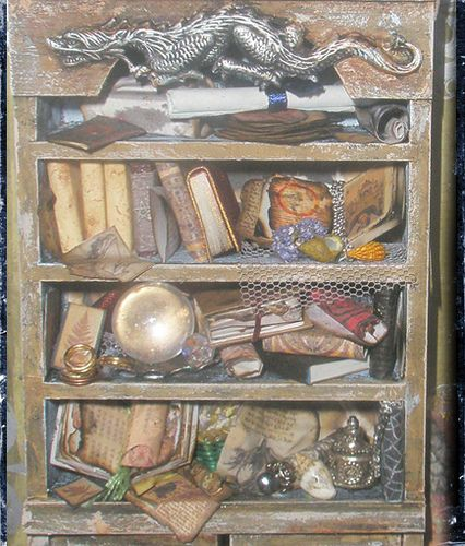 witch library box 3 by CauldronCraft, via Flickr