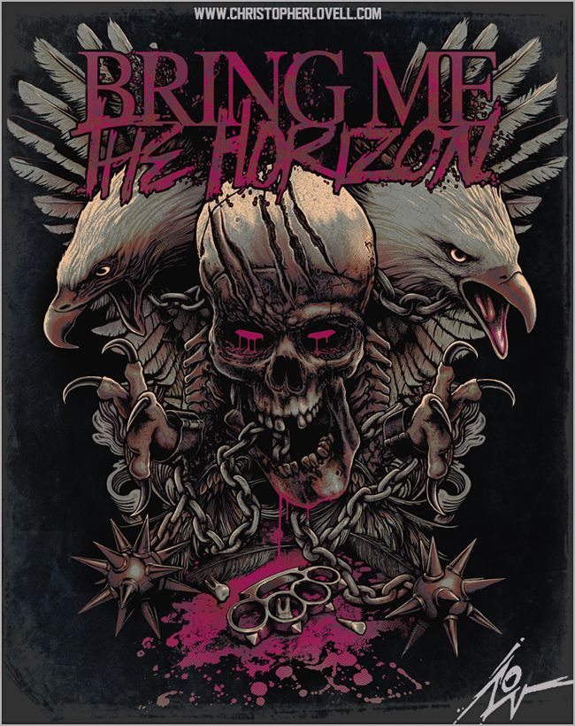 Bring Me The Horizon - Chained Wings by Lovell-Art on deviantART