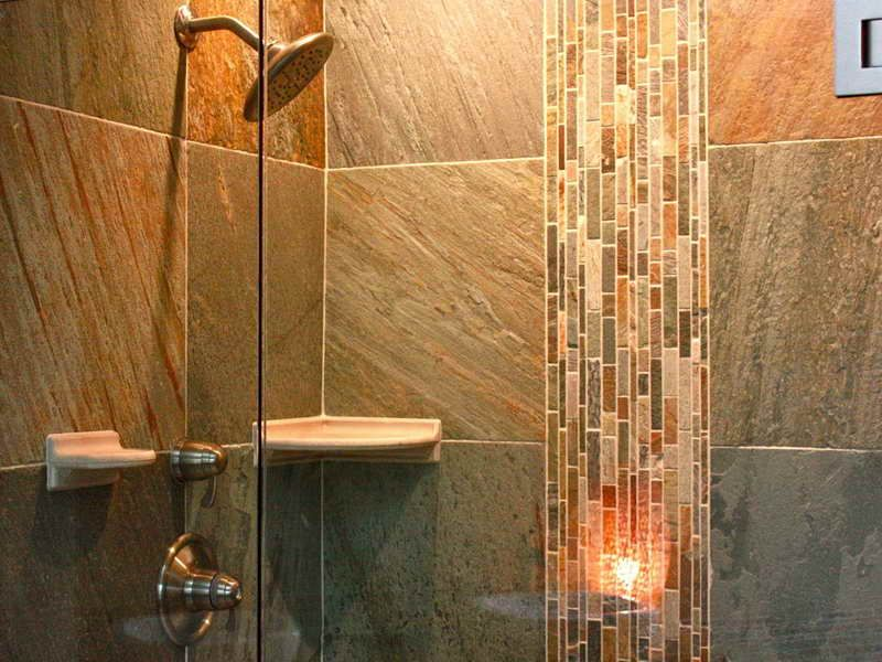 20 beautiful ceramic shower design ideas - Shower Wall Tile Design