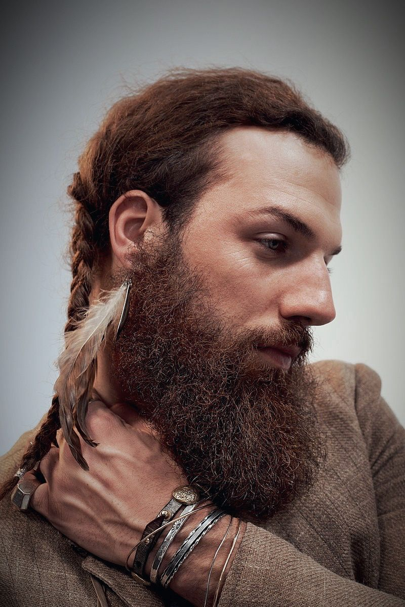 Pin by Chad Poe on Beardage! Hair styles, Long hair styles