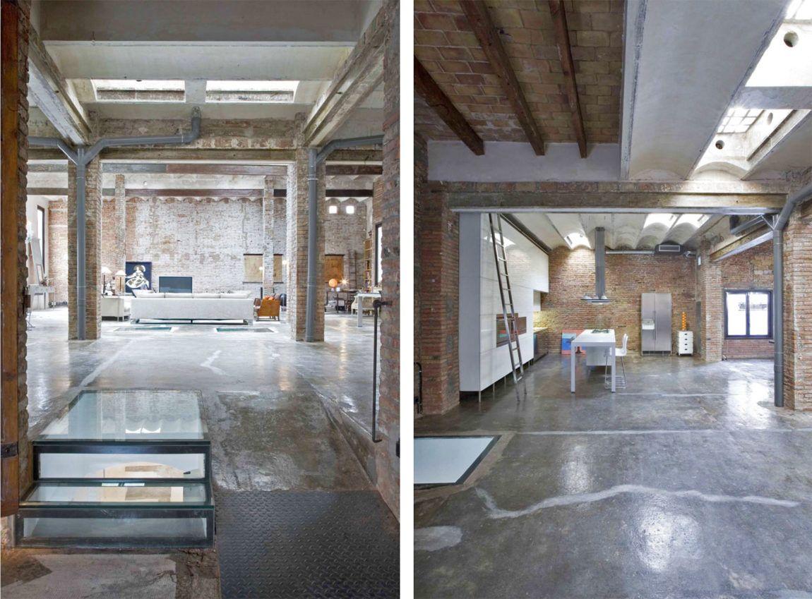 Amazing warehouse conversion in barcelona unbehandeltes holz industriedesign architektur projekte industrie stil