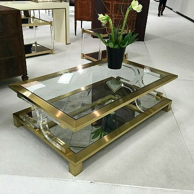 Bold and glamorous the Midtown Cocktail Table from Modern History