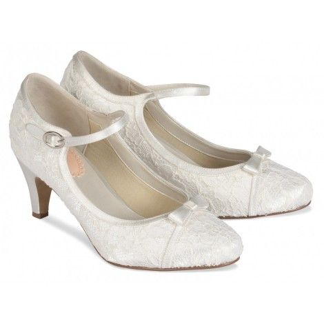 4ffc41159be ... Heels Nina Forbes Ivory Luster Satin. explore vintage wedding shoes and  more