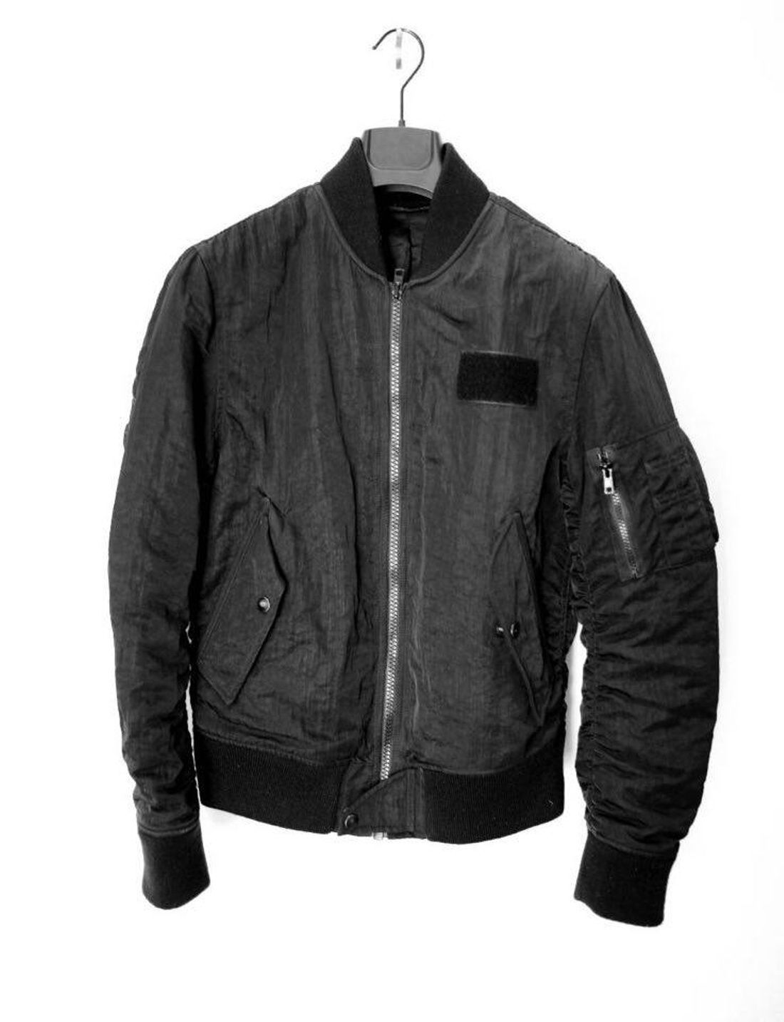 Leather jacket aesthetic - Acne Studios Gives A Classic Design Which Typifies The Scandinavian Brand S Refined Approach And Minimalist Aesthetic This Bomber Jacket Is