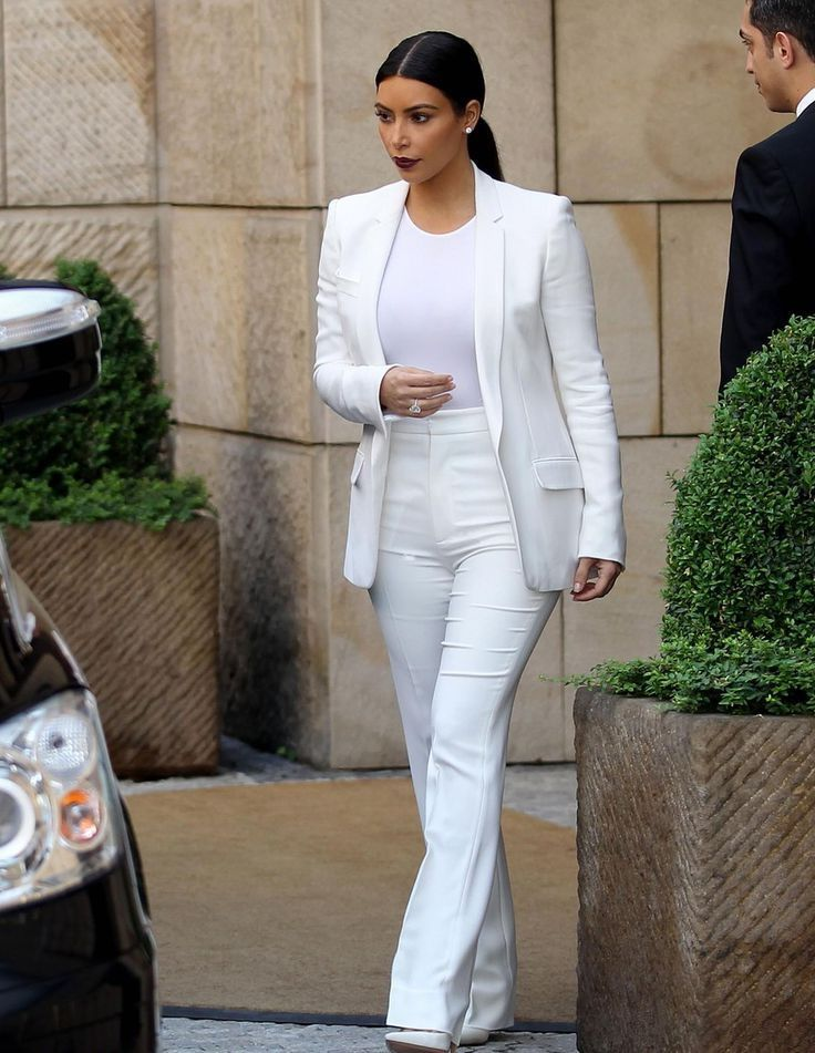 white pant suits for women  white outfits for women