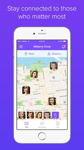 Life360 (iOS) - Family Locator, Messaging and More on the