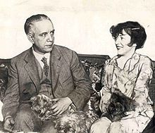 Evelyn Nesbit and first husband Harry Kendall Thaw, June 1926.