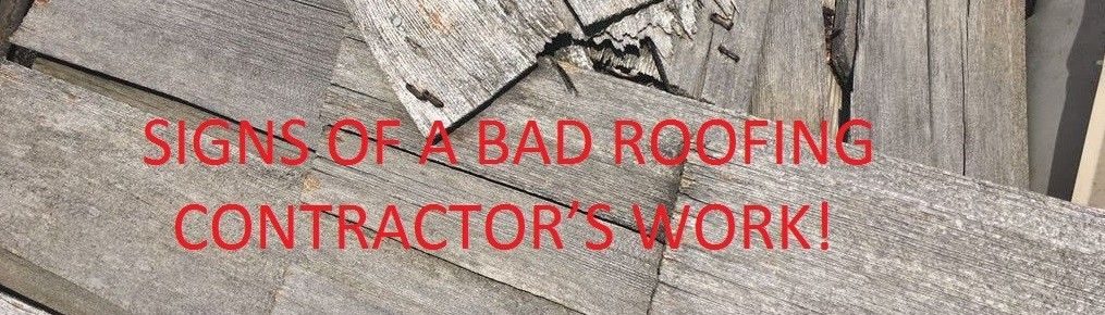 Pin by Plano Roofing Pro on SIGNS OF A BAD ROOFING