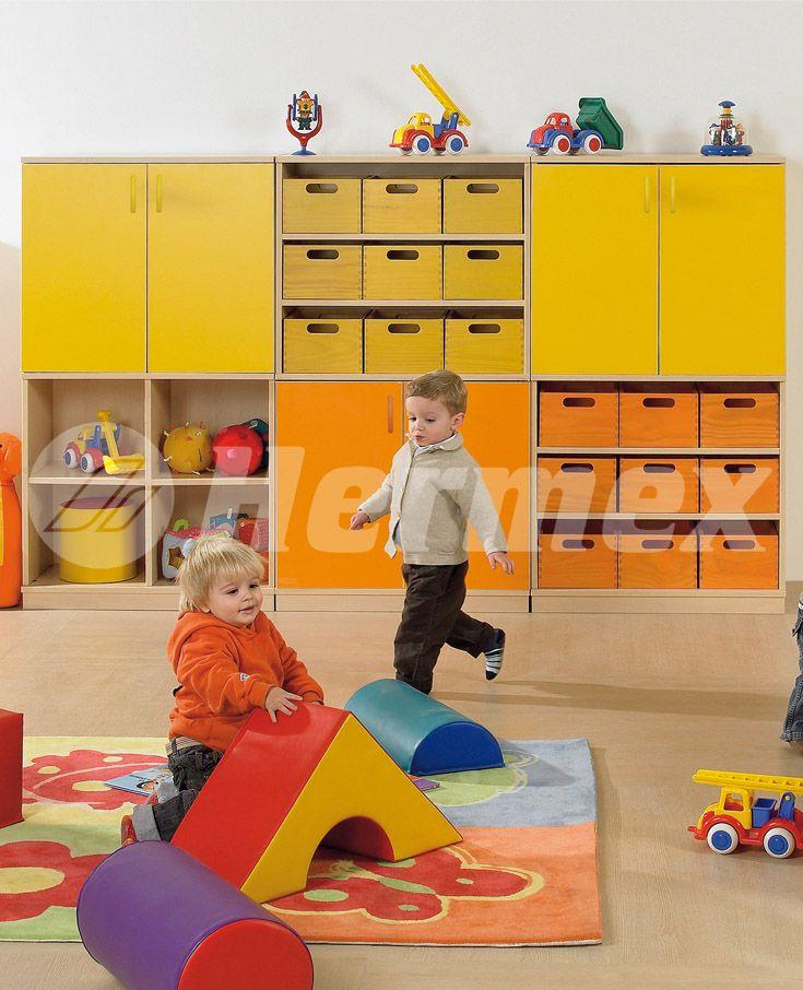 Muebles para aulas de aprendizaje preescolar muebles for Muebles de guarderia