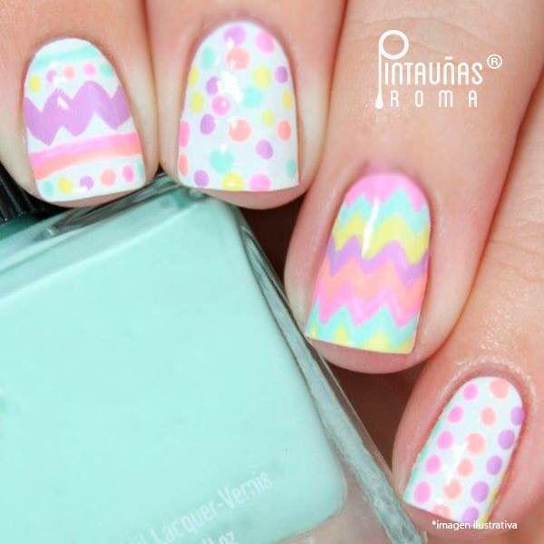 Huevos de pascua :3 | Diseño de uñas | Pinterest | Huevo, Diseños de ...