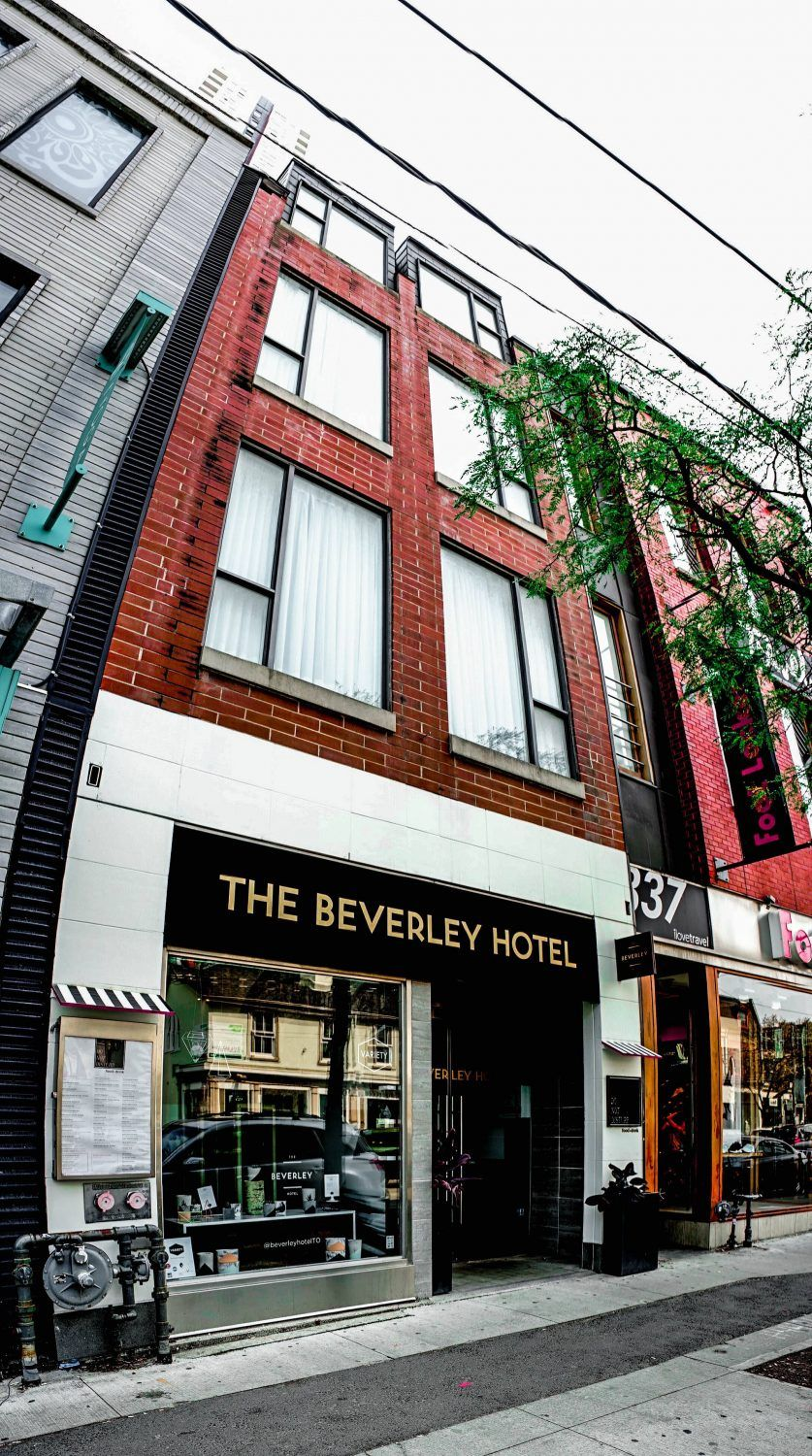 The Beverly Hotel Toronto Downtown Best Hotels In Toronto Canada