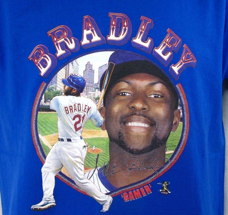 Milton Bradley Baseball Player T Shirt Men S M Vintage Medium Mlb Gamer Blue Mens Tshirts Mens Shirts Cotton Tshirt