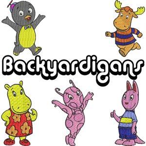 Coleção de Bordados Backyardigans
