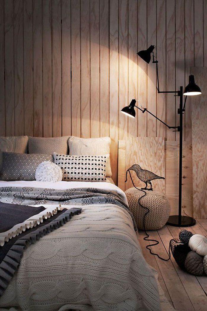 wandpaneele holz wohnzimmer holzboden gemütliches design Pinterest