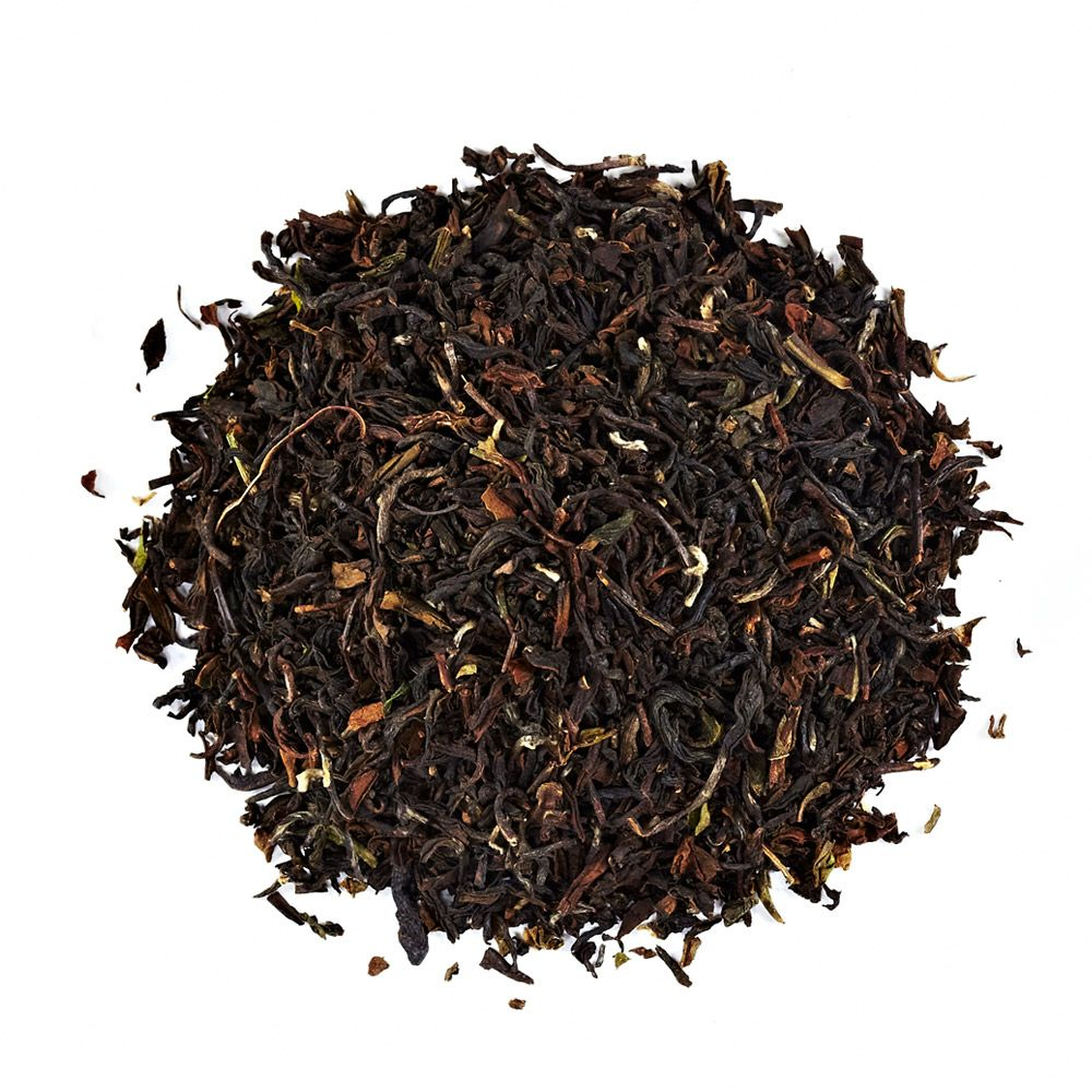 Delicate, smooth and musky, Darjeeling tea is in a class of its own. Organic, Fairtraide, delicious tea.