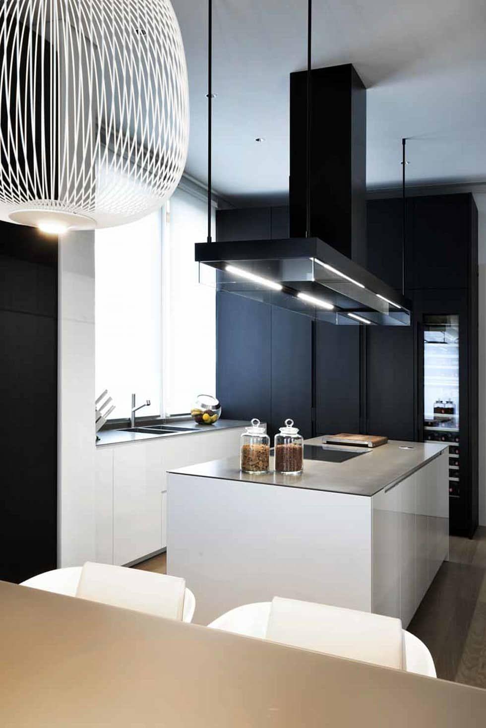 Moderne Küche Bilder von Studio Marco Piva   Studio, Open pantry and ...