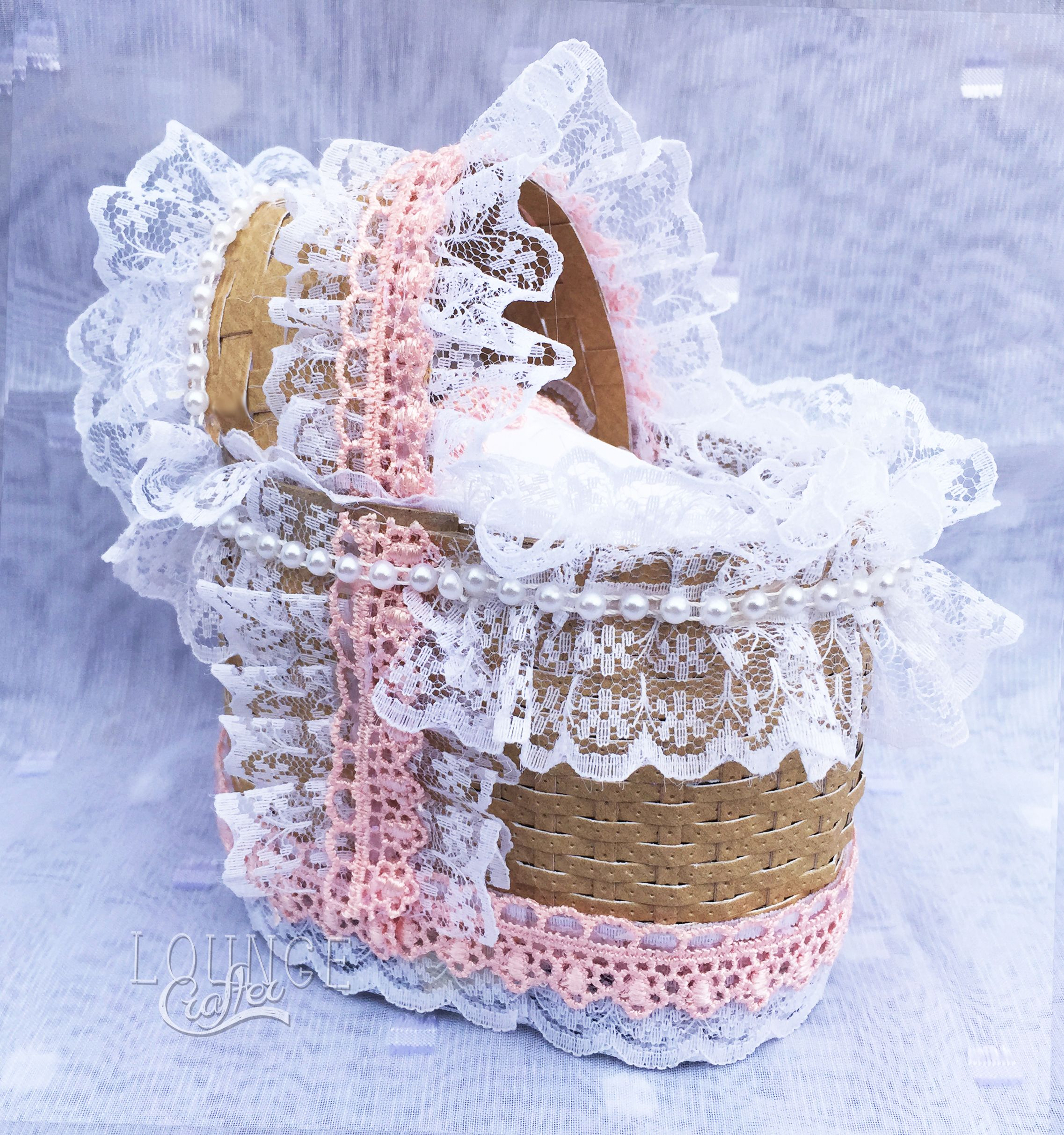 How To Weave A Moses Basket : Moses basket made using creative expressions sue wilson