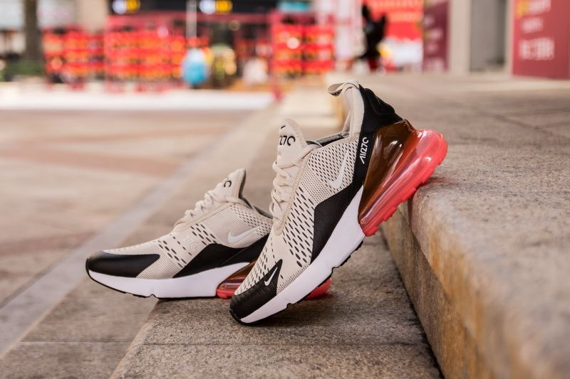 c5604f5ef6af Nike Air Max 270 AH8050-003 Cream Red Shoes for Sale-07 Nike Air Max 270  Color  Black Light Bone-Hot Punch Style Code  AH8050-003 Release Date   March 2