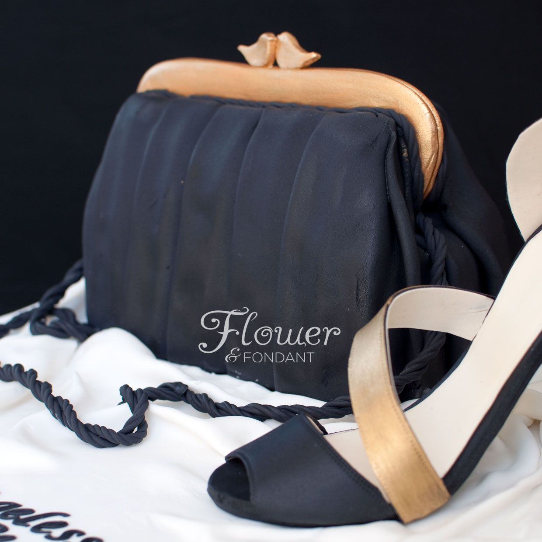Black Briefcase Cake | little black bag a little black bag pair of heels will always be ...