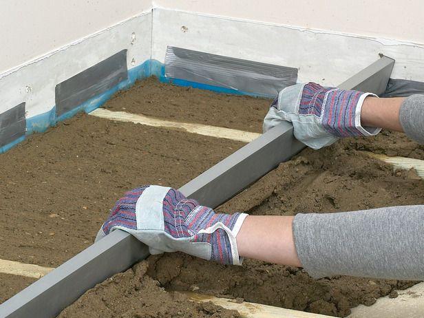 Couler un plancher béton isolé \u2013 isolation dalle beton Projet