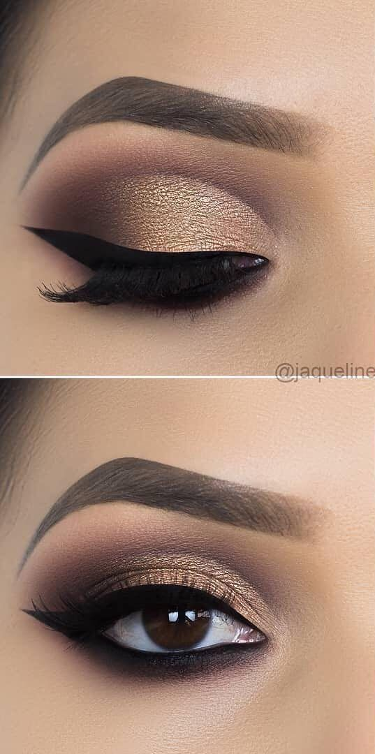 43 AWESOME CHIC and GLAMOUR EYE MAKEUP LOOKS Ideas and Images for 2019