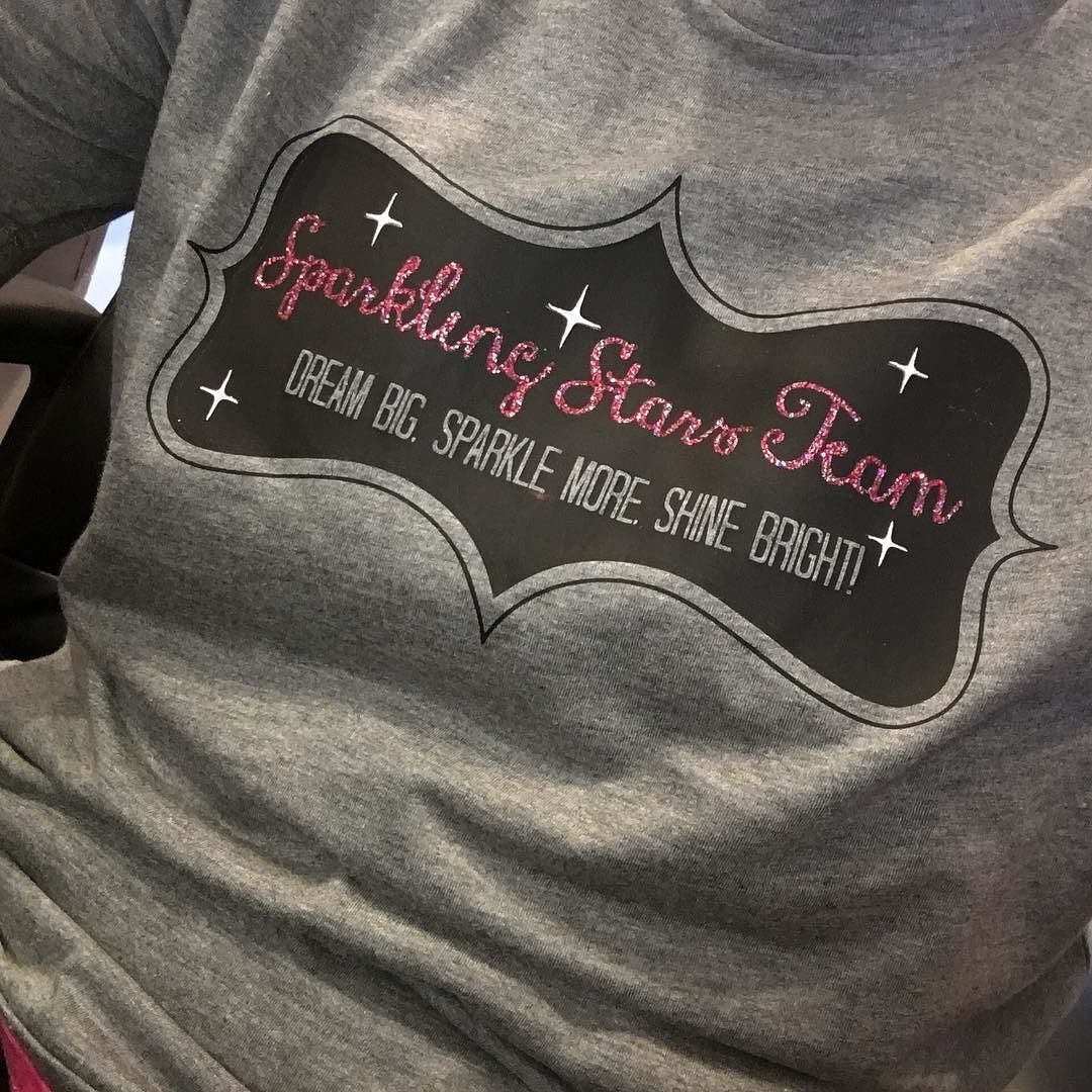 So excited about my new team t-shirts! They turned out super cute!!