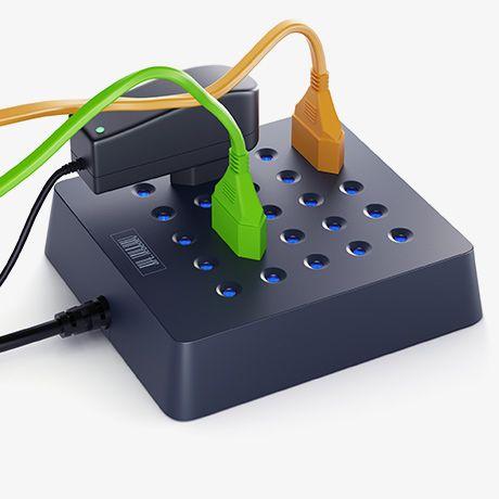 Genius: Rozetkus-1 Multistecker