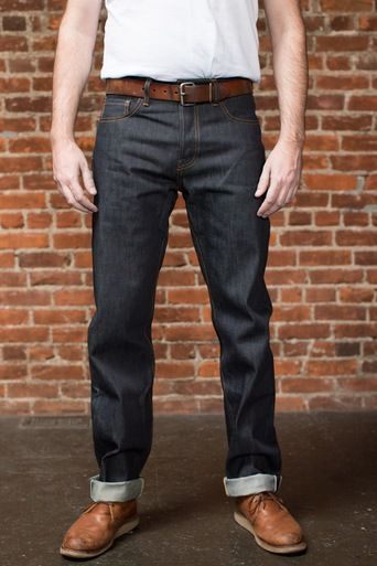 976ec0a961 Sheffield - Straight Tapered Selvedge Jeans - 16.5 oz