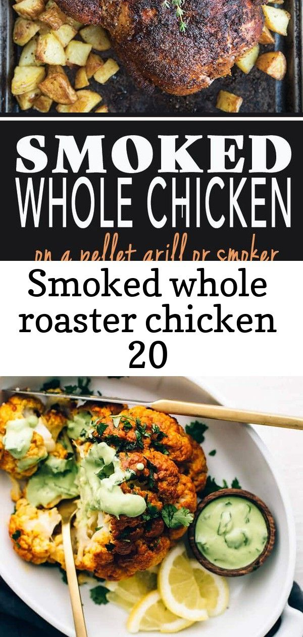 Smoked whole roaster chicken 20 How to smoke a whole roaster chicken on a pellet grill or smoker Smoked Whole Chicken is so easy and is great to use in so many recipes Ta...