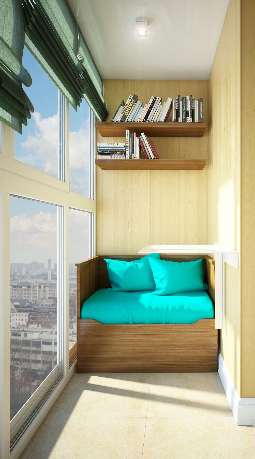 Обустройство балкона - 10 практических совета   Pinterest ...
