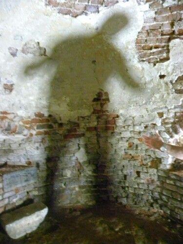 Spookje in de gevangenis van slot Batenburg