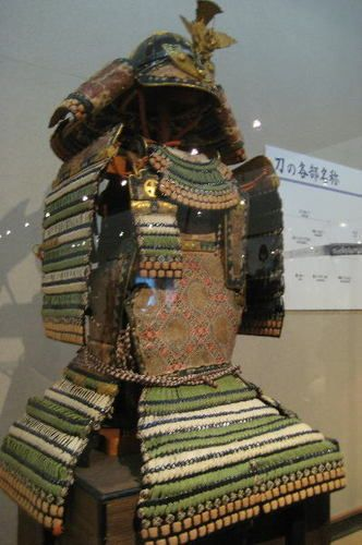 Osafune Sword Museum Edo period o-yoroi style armor.