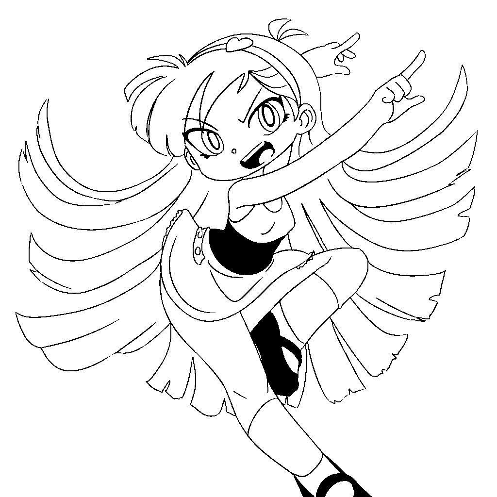 Powerpuff Girls Bliss Coloring Page 2020 Powerpuff Kizlari Boyama Sayfalari