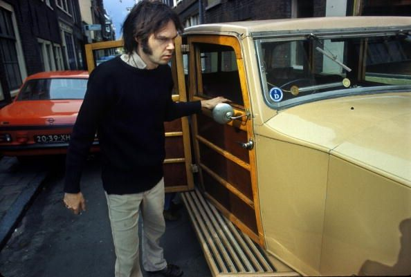 Neil Young purchacing his Rolls Royce 1974
