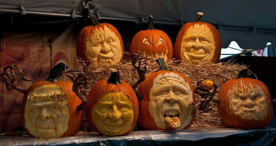 Amazing Pumpkin Sculpture MD Home And Garden Show