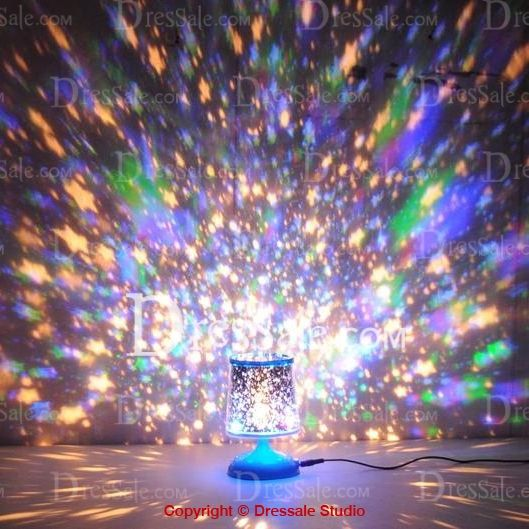Bright Stars Projective LED Light for Wedding Decoration