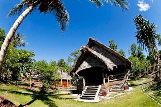 The #bungalows at Kandui Villas, Mentawai.