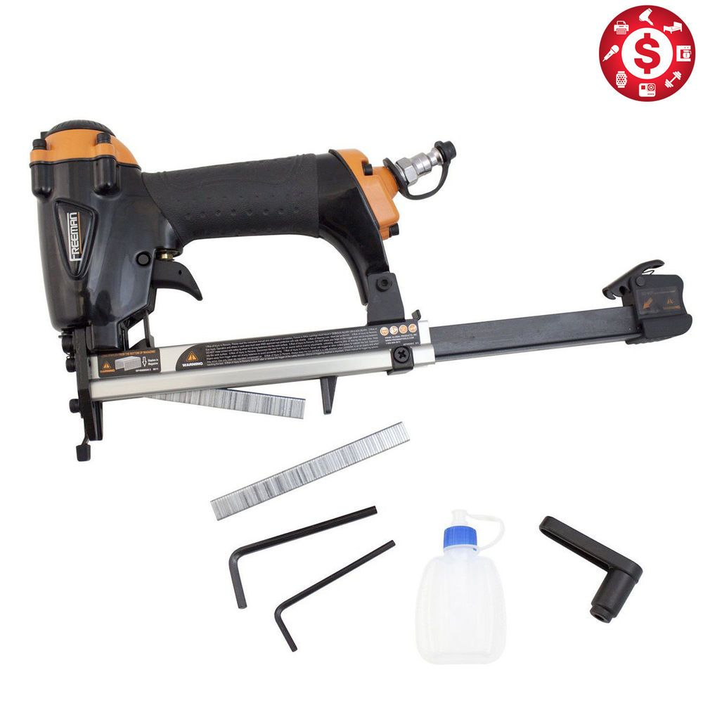 AIR PNEUMATIC STAPLERS STAPLE GUN Upholstery Wire Framing Fine ...
