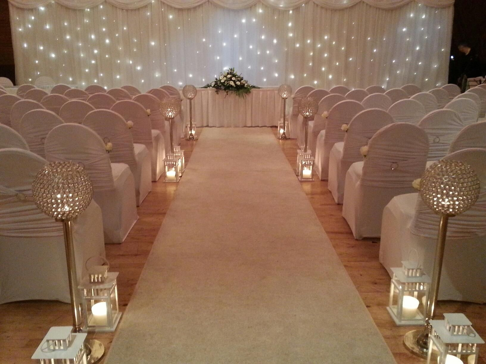 Civil ceremony at the springfield hotel leixlip co kildare for Hotel wedding decor