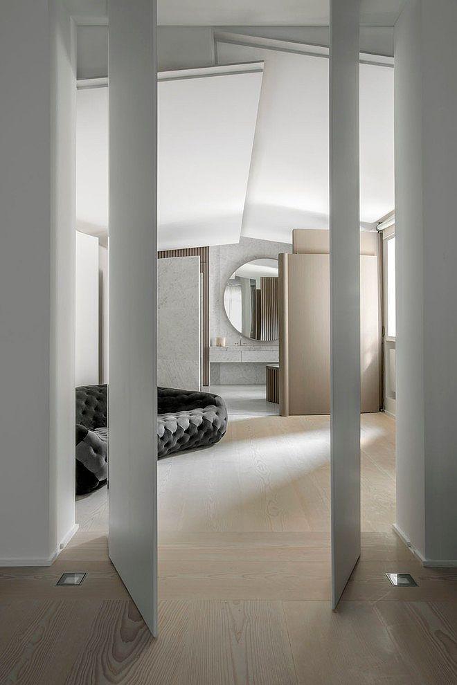 stor rund spegel badrum