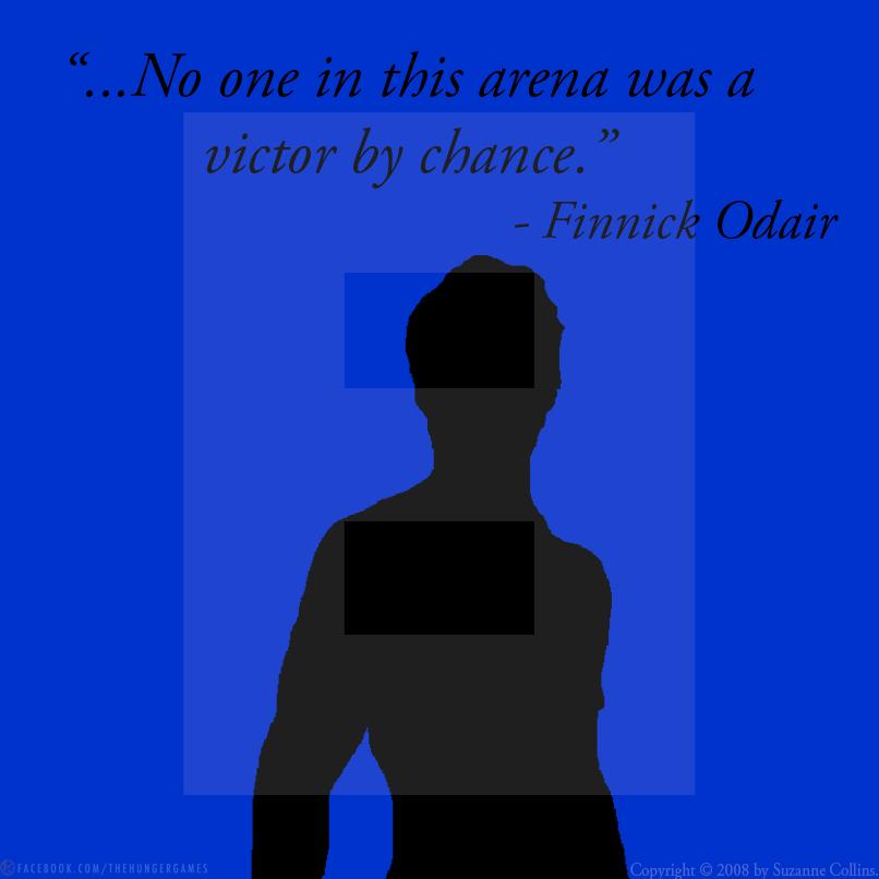 """- Finnnick #HungerGames #TheHungerGames #THG #CatchingFire #TeamFinnick """"... Ninguém nesta arena foi um vencedor por acaso."""""""